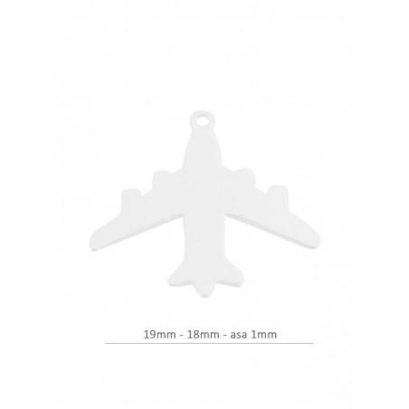 comprando ahora mejores ofertas en ofrecer descuentos Colgante avión 19mm - 18mm - asa 1mm